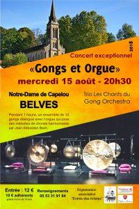 Concert Gongs et Orgue