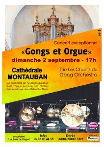 Concert Montauban Trio Les Chants du Gong Orchestra