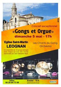 LEOGNAN- concert Gongs et Orgue