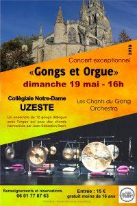 Concert Les Chants du Gong Orchestra - Uzeste