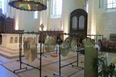 Trio les Chants du gong orchestra Concert gongs et orgues - Angoulême 23 07 2016 014