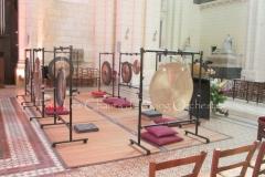 Trio les Chants du gong orchestra Concert gongs et orgues - Angoulême 23 07 2016 022