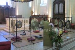 Trio les Chants du gong orchestra Concert gongs et orgues - Angoulême 23 07 2016 023