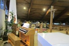 Trio les Chants du Gong Orchestra Concert gongs et orgues - Piquey - Cap Ferret12 02 2017 027