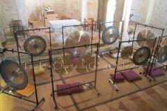 Trio les Chants du Gong Orchestra Concert gongs et orgues - Lanton1