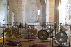 Trio les Chants du Gong Orchestra Concert gongs et orgues - Lanton10