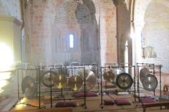 Trio les Chants du Gong Orchestra Concert gongs et orgues - Lanton13