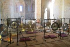 Trio les Chants du Gong Orchestra Concert gongs et orgues - Lanton18