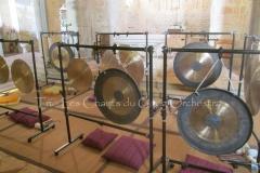 Trio les Chants du Gong Orchestra Concert gongs et orgues - Lanton5