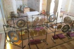 Trio les Chants du Gong Orchestra Concert gongs et orgues - Lanton7