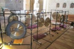 Trio les Chants du Gong Orchestra Concert gongs et orgues - Lanton8