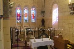 Trio les Chants du Gong Orchestra Concert gongs et orgues - Saint-Martin La Caussade 15 08 14 003