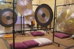 Trio les Chants du Gong Orchestra Concert gongs et orgues - Saint-Martin La Caussade 15 08 14 019