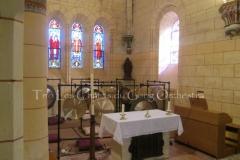 Trio les Chants du Gong Orchestra Concert gongs et orgues - Saint-Martin La Caussade 15 08 14 022