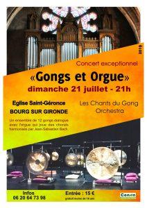 ConcertGongs et Orgues -Les-Chants-du-Gong-Orchestra-Bourg-Sur-Gironde