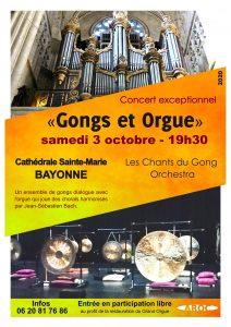 Concert Les Chants du Gong Orchestra Bayonne 3 octobre 2020
